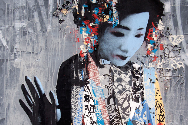"HUSH ""TWIN"" Exhibition @ New Image Art Gallery"