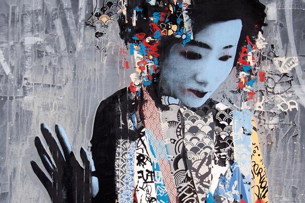 "HUSH ""TWIN"" Exhibition @ New Image Art Gallery"