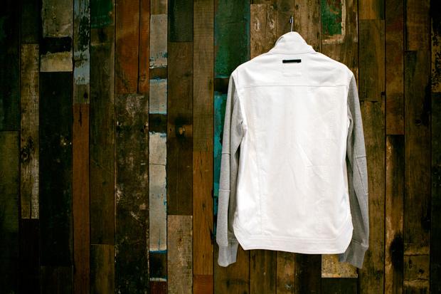 isaora linen blend denim combo jacket