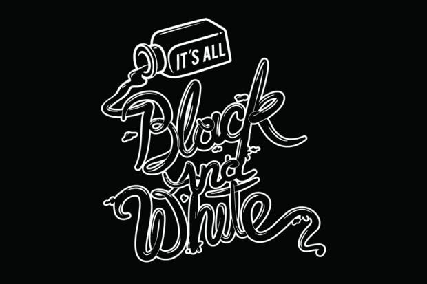 """It's All Black & White"" Art Show Los Angeles"