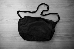 JULIUS Distressed Messenger Bag
