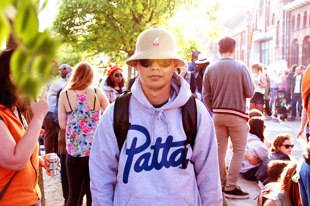 kangol x patta summer of love collection