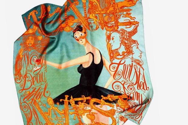 Kanye West x M/M (Paris) Silk Scarves - A Closer Look