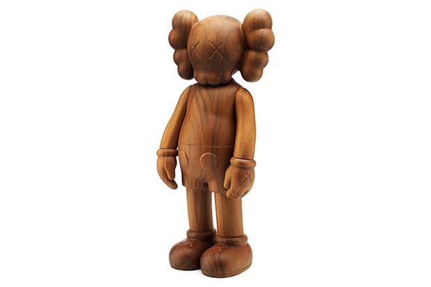 karimoku x originalfake kaws companion figure