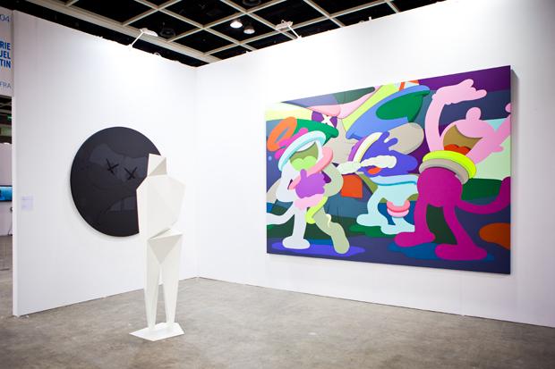 art hong kong 2011 kaws galerie emmanuel perrotin