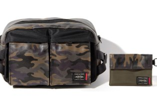 Levi's x Porter Limited Edition Camo Collection