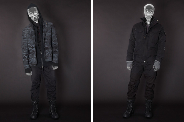 "maharishi 2011 Fall/Winter ""Into The Light : Survival 2012"" Collection Lookbook"