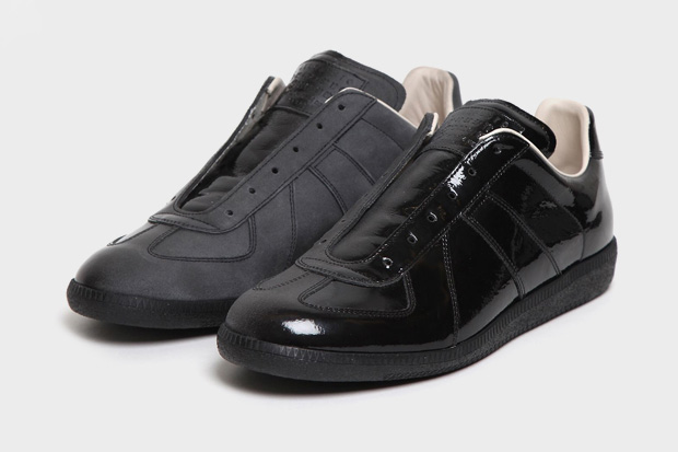 maison martin margiela 2011 pre fall patent shaded sneaker