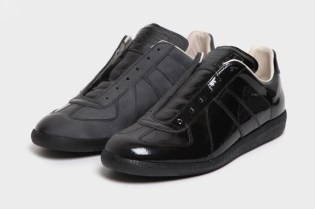 Maison Martin Margiela 2011 Pre-Fall Patent Shaded Sneaker