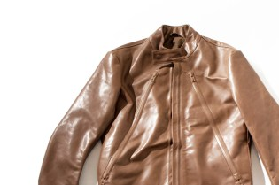 Maison Martin Margiela Covered Zip Leather Jacket