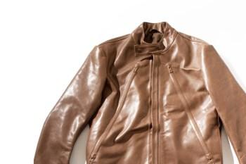 Maison Martin Margiela Covered Zip Leather Jacket