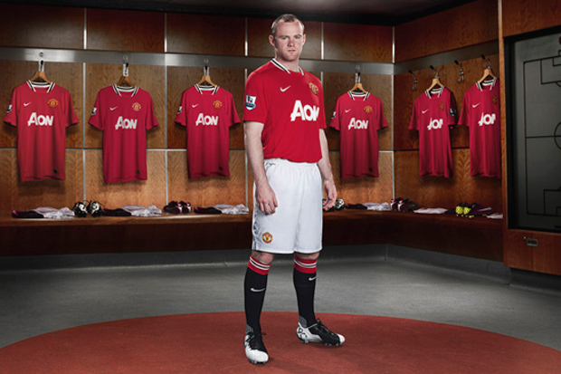 Manchester United 2011-2012 Jersey