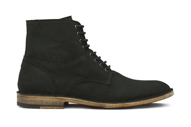 Marc Jacobs Canvas Laceup Boots
