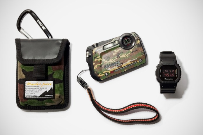 Master-piece x Casio EXILIM G Camera & G-Shock Watch