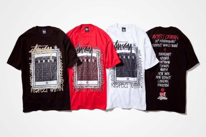 Mighty Crown x Stussy T-Shirt