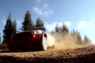 Mini John Cooper Works WRC Car