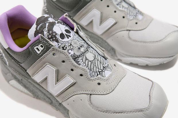 mita sneakers x frat x new balance mt576s bamboo rake