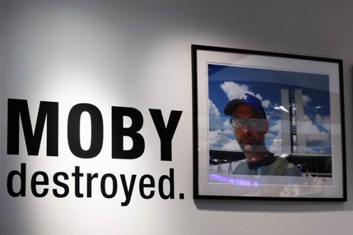 "Moby ""destroyed."" Exhibition @ colette Recap"