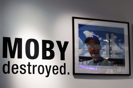 "Moby ""destroyed."" Exhibition @ colette Recap"