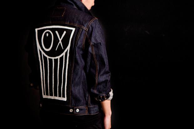 moca x andre x levis trucker jacket