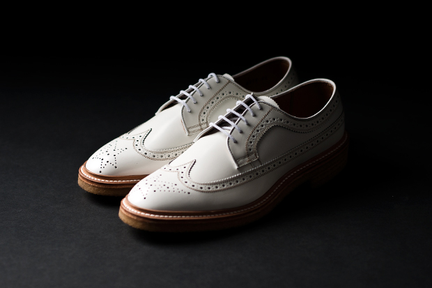 mr bathing ape x regal longwing brogues