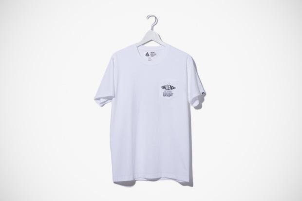 neighborhood wtaps challenger x warp magazine 15th anniversary t shirts