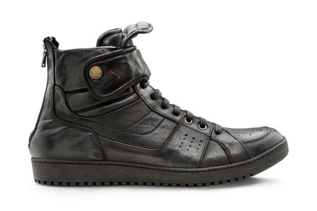 Neil Barrett Leather Hightop Sneaker