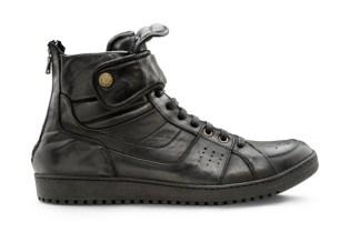 Neil Barrett Leather Hightop Sneaker