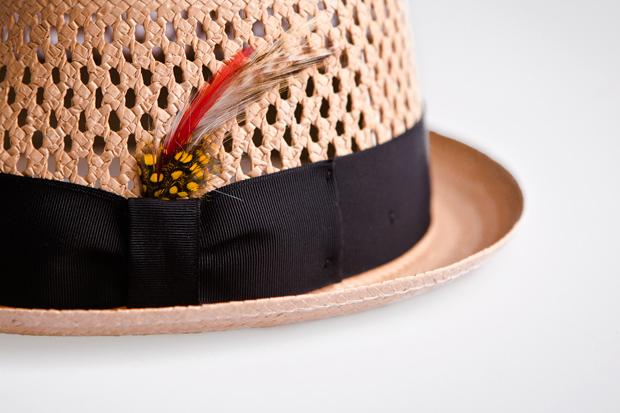 new york hat co straw fedora hat