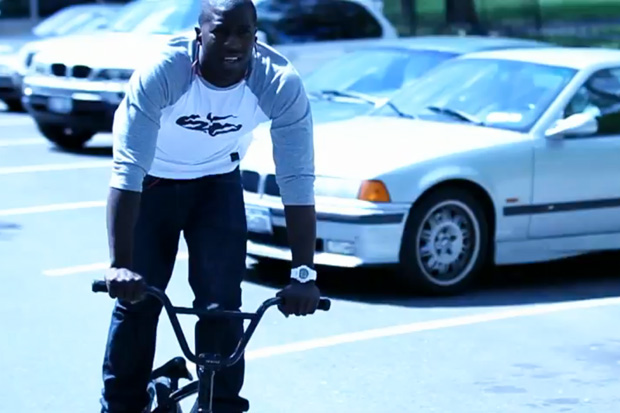 Nigel Sylvester G-Shock Commercial