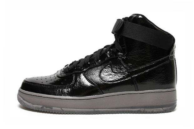 Nike Air Force 1 Hi Premium Black/Black