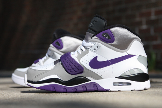 Nike Air Trainer SC II High White/Club Purple