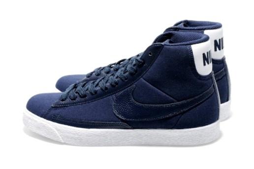 Nike Blazer Mid Premium TG Midnight Navy