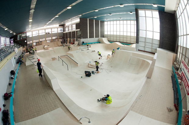 nike presents the pool behind the scenes