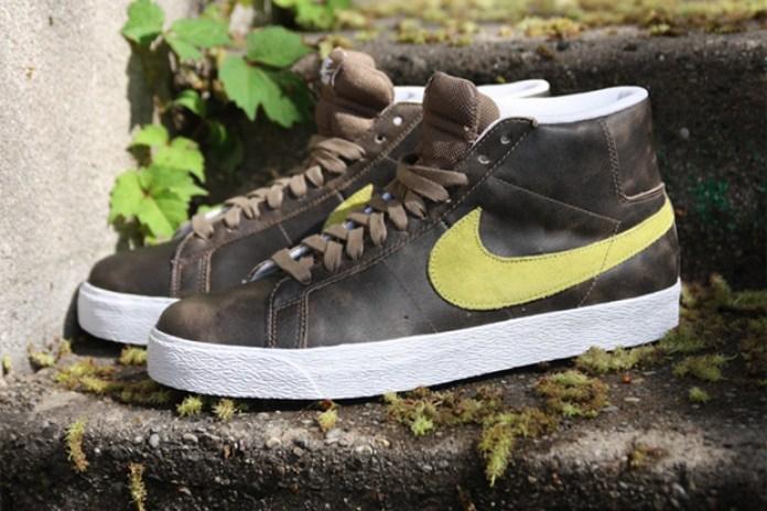 Nike SB Blazer High Cocoa/Volt