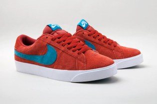 Nike SB Blazer Low Tangy Teal/Terracotta