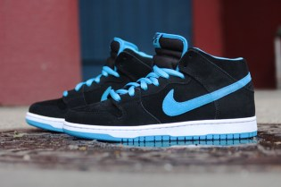 Nike SB Dunk Mid Black/Orion Blue