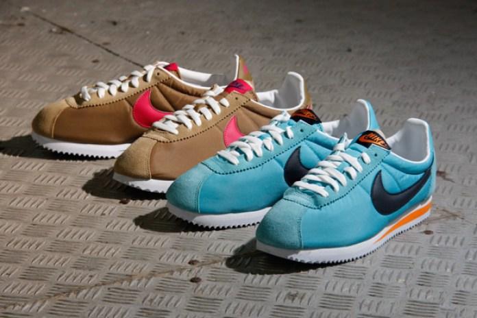 "Nike Sportswear 2011 Summer Cortez Classic ""Nylon"" Pack"