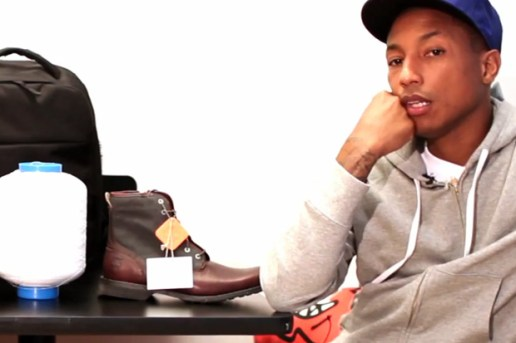 Pharrell Williams & Tyson Toussant Talk Bionic Yarn