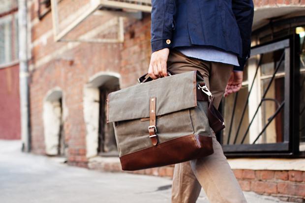 Property Of… Alfred Work Messenger Bag