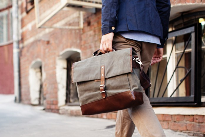 Property Of… Alfred Work Messenger Bag