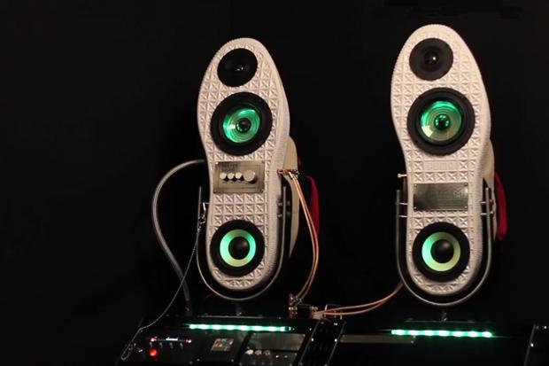 PUMA x Nash x DOOM Sneaker Speakers Video