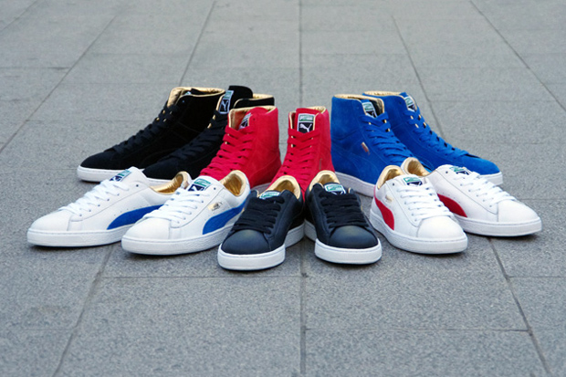 "PUMA ""The List"" - The Gold Classic Pack"