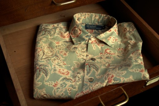 Ralph Lauren Medley Print Niagara Camp Shirt - number six Exclusive