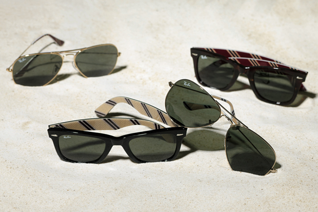 ray ban for brooks brothers capsule collection
