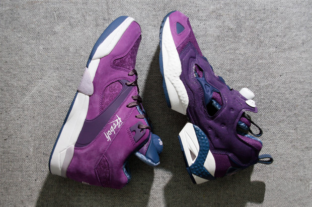 reebok insta pump fury court victory pump purple rain pack