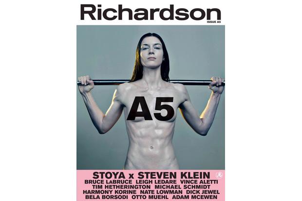 richardson magazine issue a5 nsfw