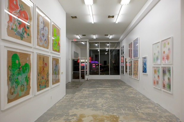 """Ryan McGinness """"Works on Paper"""" @ Country Club LA"""