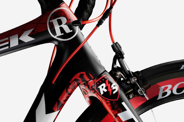 shepard fairey x team radioshack x trek madone 6 9 ssl bike