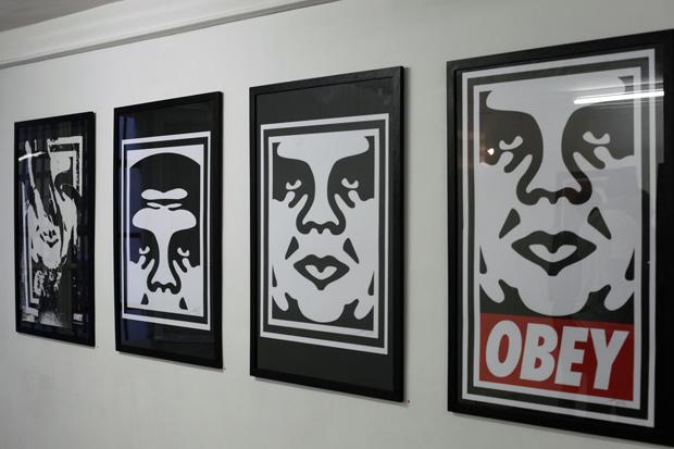 "Shepard Fairey ""The Print Show"" @ Magda Danysz Gallery Recap"